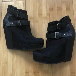 Size 6 black booties